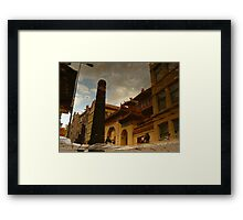 Reflections of Amsterdam - The Dharma Bums Framed Print