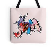 Jem and the Holograms - Logo - Group Color Tote Bag
