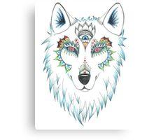 Wolf Design Canvas Print