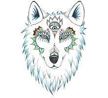 Wolf Design Photographic Print