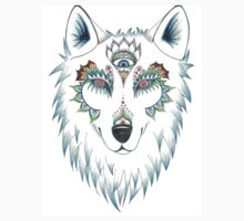 Wolf Design Baby Tee