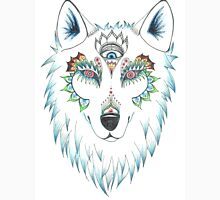 Wolf Design Womens Fitted T-Shirt
