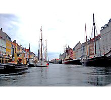 I love this Danish Nyhavn canal Photographic Print