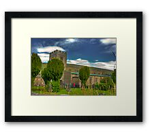 Dent Church - Dentdale. Framed Print