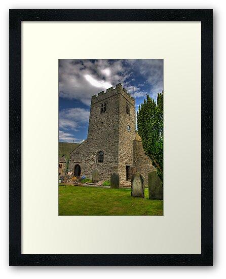 Dent Church Tower - Dent by Trevor Kersley
