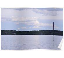 Whitewater Lake - Smokestack Poster