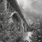 Worsham Street Bridge, Danville, Virginia by BCallahan