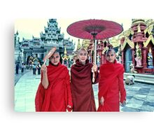 Shwedagon Pagoda, Rangoon, Burma Canvas Print