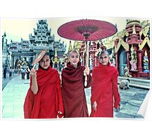 Shwedagon Pagoda, Rangoon, Burma Poster