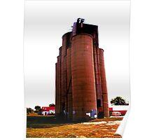 Grain Elevators 3 Poster
