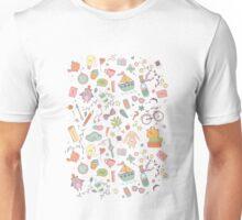 Cute traveling pattern Unisex T-Shirt