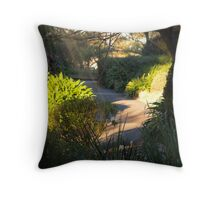 """""""When Heaven Calls Your Path Will Be Waiting"""" Throw Pillow"""