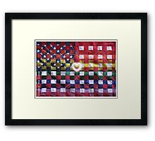 United We Love Framed Print