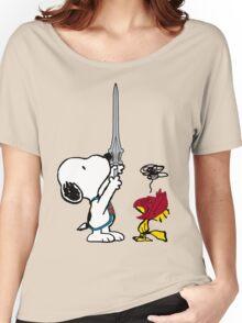 He-Dog and Battle Bird Women's Relaxed Fit T-Shirt