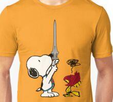 He-Dog and Battle Bird Unisex T-Shirt