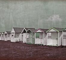 Grunge Huts by Simone Riley