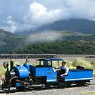 Fairbourne Railway, Wales by Mike Paget