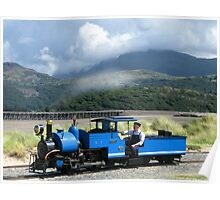 Fairbourne Railway, Wales Poster