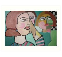 Doubt. For sale 300.00 Euros Art Print