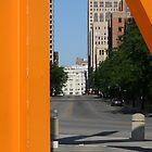 Orange Frame by D.M. Mucha