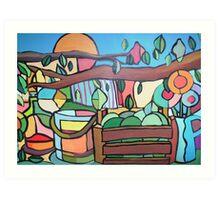 Under the lemon tree For sale 500.00 Euros Art Print