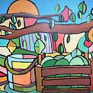 Under the lemon tree For sale 500.00 Euros by Ana Johnson