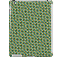 Tessellating Squid - Gold and Turquoise iPad Case/Skin