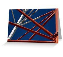 Pythagoras' pipes Greeting Card