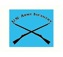 U.S. Army Infantry Art Print