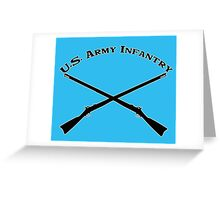 U.S. Army Infantry Greeting Card