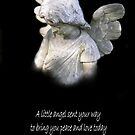 An Angel Blessing by Marie Sharp