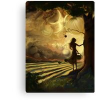 Impending Harvest Canvas Print