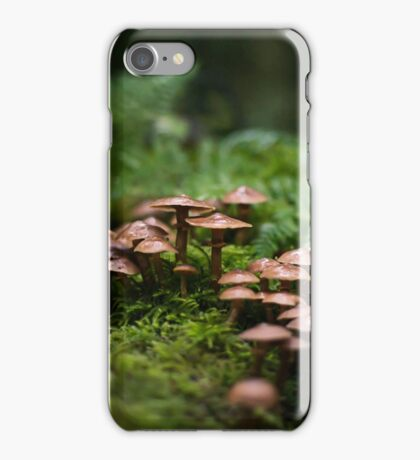 Mushroom World iPhone Case/Skin