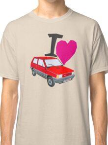 i love panda red Classic T-Shirt