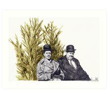 Christmas in July Art Print