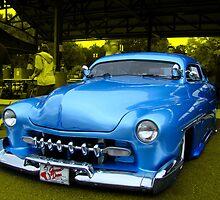 "1951 Mercury Low Rider ""The Blue Diamond"" by TeeMack"