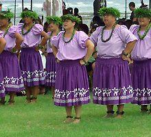 Tahitian Dancers  by Dennis Begnoche Jr.