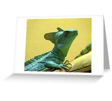 Am I Green, Or What? Greeting Card