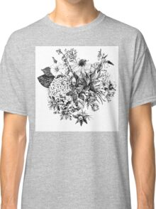 Foral composition Classic T-Shirt