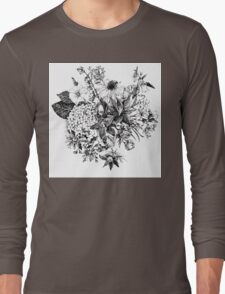Foral composition Long Sleeve T-Shirt