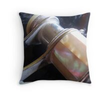 Pearl Opera Glasses - detail Throw Pillow