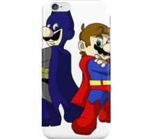 Mario Bros Super Heroes iPhone Case/Skin