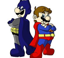 Mario Bros Super Heroes by ToxicKrieg