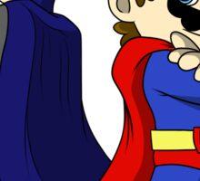 Mario Bros Super Heroes Sticker
