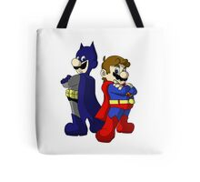 Mario Bros Super Heroes Tote Bag