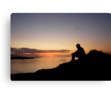 At Peace With The World Canvas Print