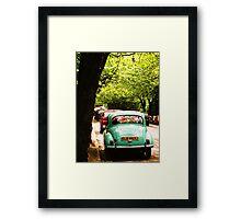 West End Mini Framed Print