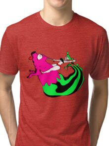 Bacon Rider Tri-blend T-Shirt