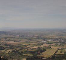 View from Cortona  by bennystoors