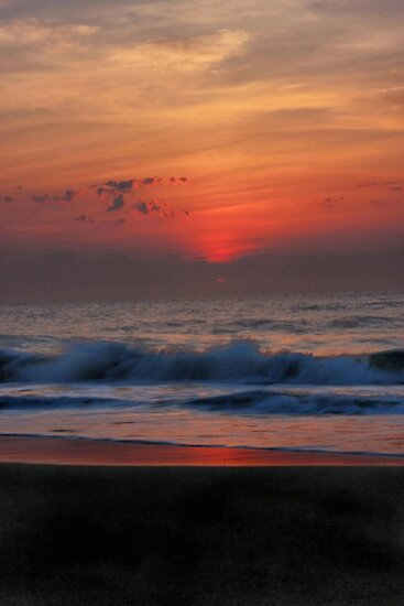 Atlantic Sunrise by Barbara  Brown